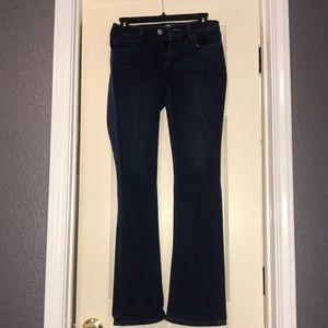 Loft Curvy Boot Jeans